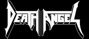 Death Angel - band logo - B&W
