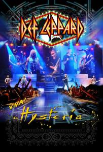 Def Leppard - Viva! Hysteria - film - promo poster - 2013
