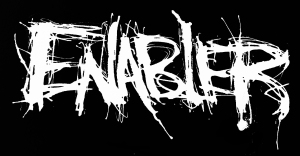 Enabler - band logo - B&W - 2013