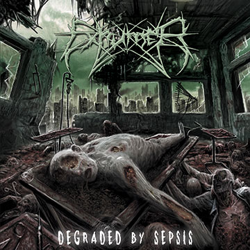 Exumer - Degraded By Sepsis - promo cover pic