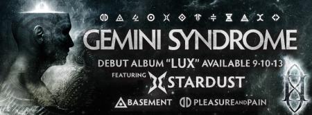 Gemini Syndrome - Lux - promo album banner