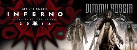 Inferno Metal Festival Norway - 2014 - promo banner - dimmu borgir