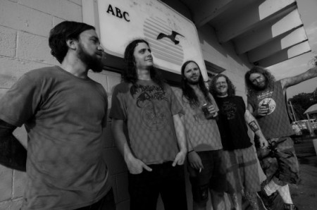 Inter Arma - Promo Band Pic - #1 - 2013 - B&W