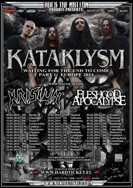 kataklysm-european-headliner- tour - promo flyer