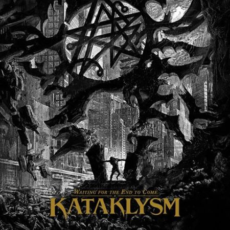 Kataklysm - Waiting For The End To Come - alternate cover promo pic