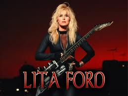 Lita Ford - Promo Image & Name - 2009 - #1