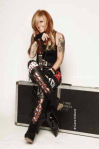 Lita Ford - The Bitch Is Back - Live - promo pic - #1 - 2013