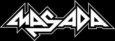 Masada - band logo - B&W