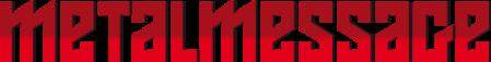 MetalMessage - large logo - red - 2013