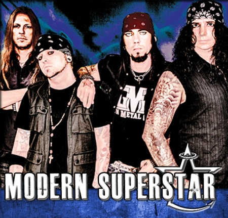 Modern Superstar - Band Promo Pic - Logo - #99 - 2013