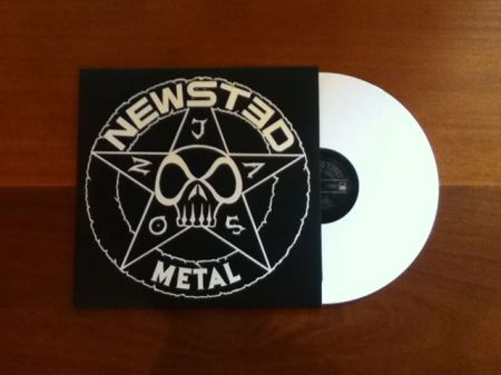 Newsted - Metal - EP - white vinyl - Aug - 2013