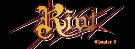 Riot - Chapter 5 - large promo band logo - 2013