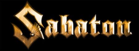 Sabaton - Band Logo - Gold - 2013