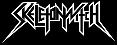 Skeletonwitch - band logo - B&W - 2013