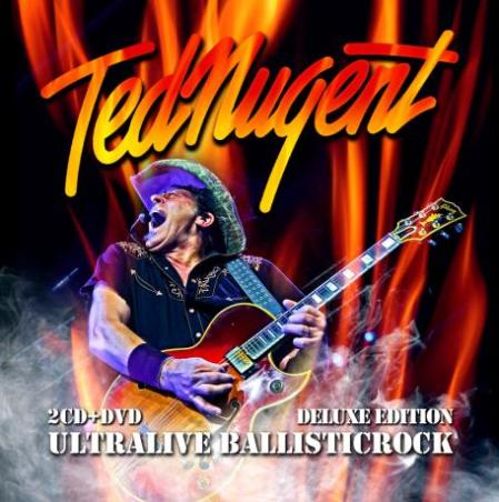 Ted Nugent - Ultralive Ballisticrock - promo cover pic