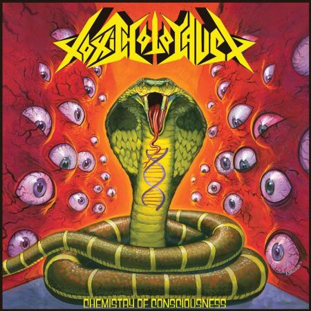Toxic Holocaust - Chemistry Of Consciousness - promo cover pic