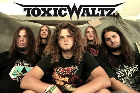 Toxic Waltz - promo band pic - band logo - 2013 - #1
