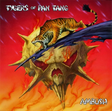 Tygers Of Pan Tang - Ambush - promo cover pic