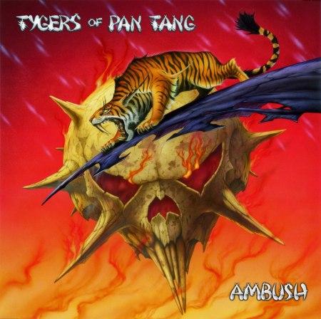 Tygers Of Pan Tang - Ambush - promo cover pic