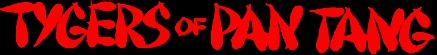 Tygers Of Pan Tang - classic band logo - red