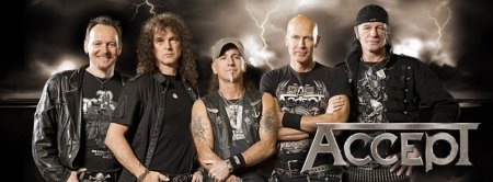 Accept - promo band with logo - banner - 2013 - #61