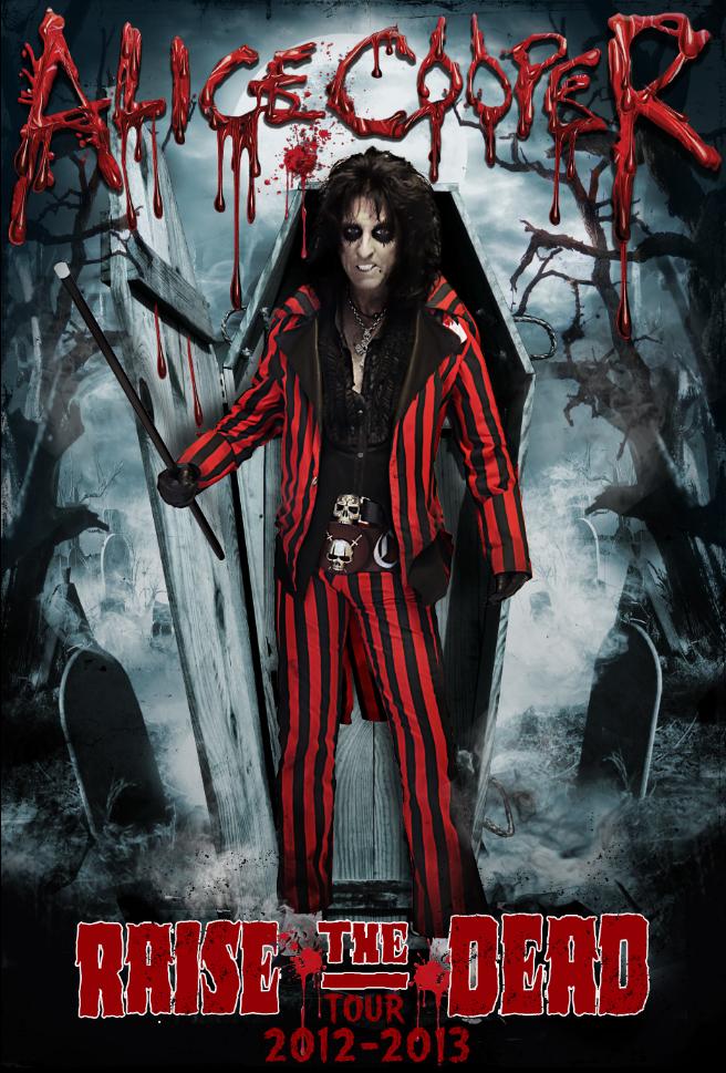 Alice Cooper Raise The Dead Tour Band