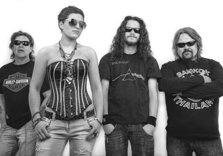Big Guns - promo band pic - B&W - 2013 - #81