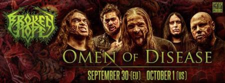 Broken Hope - Omen Of Disease - promo banner - 2013 - #4
