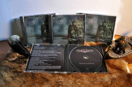 CALADMOR - Of Stones And Stars - CD promo pic - #2 - 2013