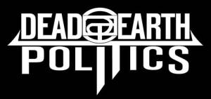 Dead Earth Politics - band logo - B&W - 2013