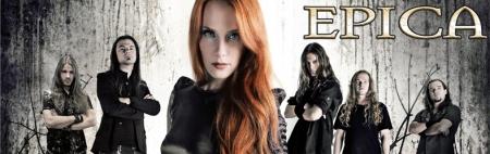 Epica - Band Banner Promo - 2013 - #99