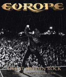 Europe - Live At Sweden Rock - 30th Anniversary Show - promo cover