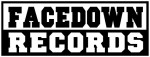Facedown Records - logo - B&W