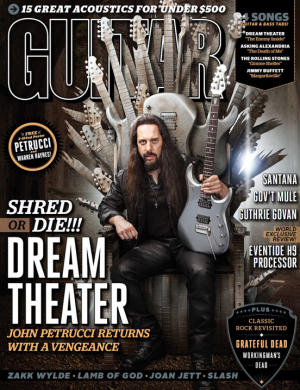 Guitar World - promo cover - November - 2013