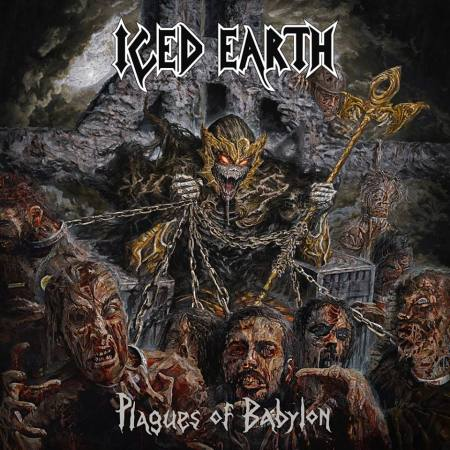Iced Earth - Plagues Of Babylon - promo cover pic