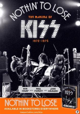 Kiss - Nothin' To Lose - book cover promo pic