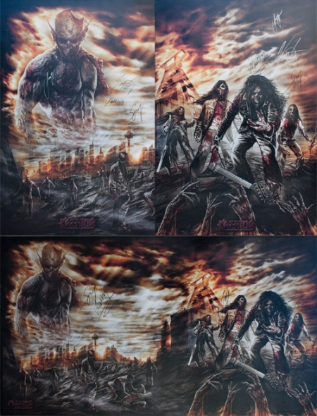 Kreator - Charity Prints - PETA - 2013