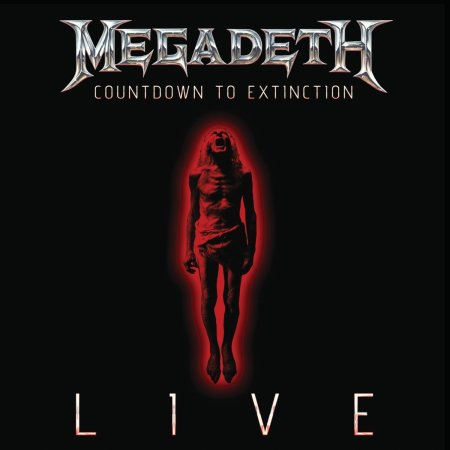 Megadeth - Countdown To Extinction - LIVE - promo cover pic