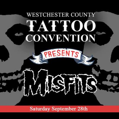 Misfits - Tattoo Convention - promo flyer - 2013