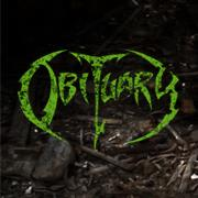 Obituary - promo pic - green logo - August - 2013