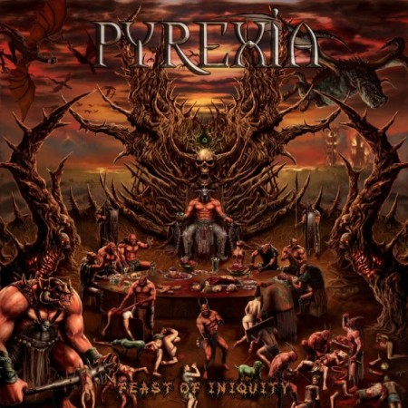 Pyrexia - Feast Of Iniquity - promo cover pic