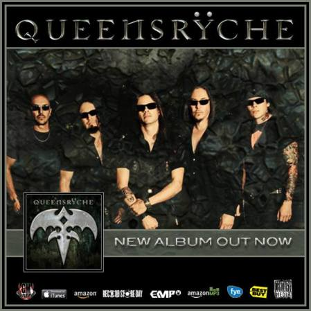 Queensryche - album promo flyer - band pic - 2013 - #13