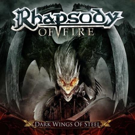 Rhapsody Of Fire - Dark Wings Of Steel - promo cover pic