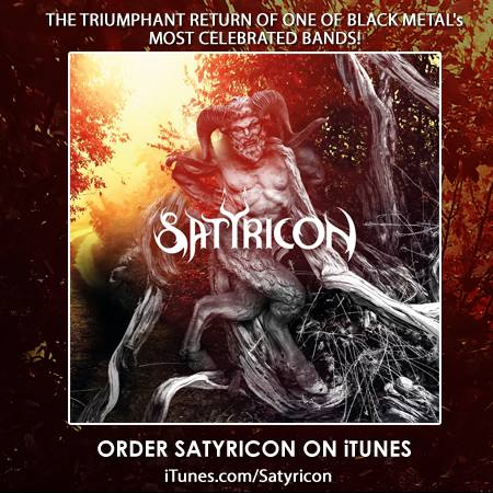 Satyricon - itunes - preorder - promo pic - 2013