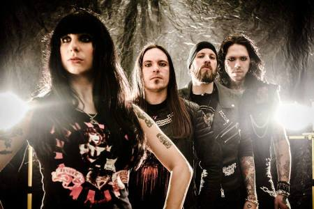 Sister Sin - promo band pic - 2013 - #02