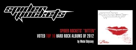 Spider Rockets - Bitten - promo banner - Metal Odyssey - 2013
