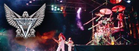 Triumph - promo banner - live band - classic logo - #1