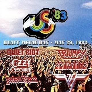 US Festival - '83 - promo flyer pic - #1