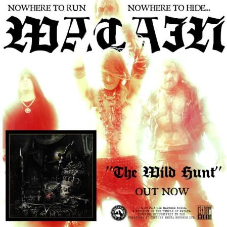 Watain - The Wild Hunt - promo album flyer - 2013 - #1