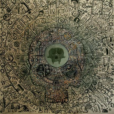 Ape Machine - Mangled By The Machine - promo cover pic